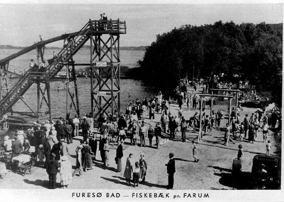 100-året for Furesøbad fejres.
