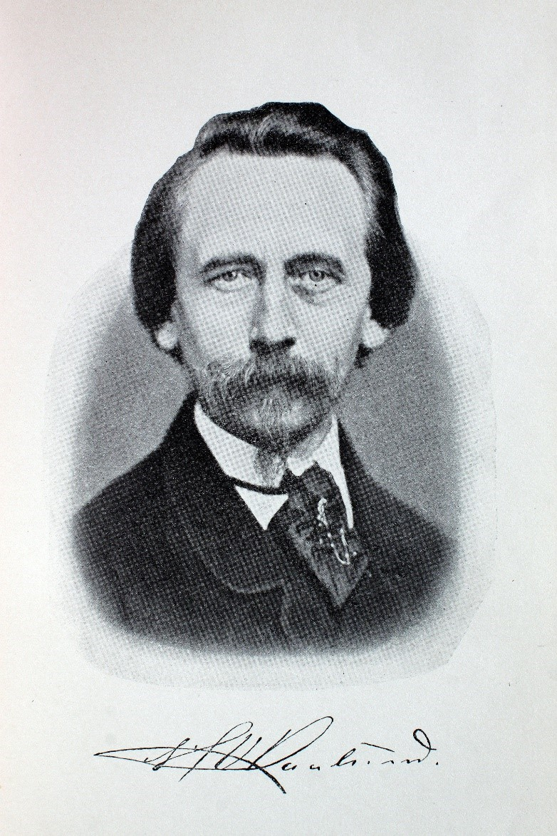 Digteren H.V. Kaalund  (1818-85)